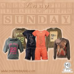 Pick now your outfit for a lazy sunday this weekend!