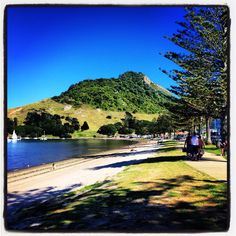 Mauao, Mount Maunganui, Bay Of Plenty, New Zealand