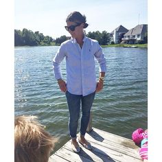 Here's to a simple button down, skinnies and snake skin flats (and my snake necklace as promised)  We played outdoors, trying to catch fish (the kids not me) I love summers in #Michigan  #summerfashion #summer #stylishbloggers #maxxinista #contest #lookoftheday #jeans #redbookootd #lotd #wiw #fashiongram #fashionblogger #momstyle #mystyle #metoday #lookoftheday #momuniform