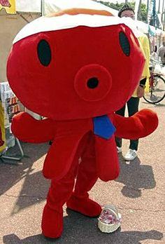 Papa Taco, mascot of Hyogo pref. Japan
