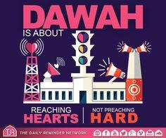 Dawah is about reaching hearts, not preaching hard.