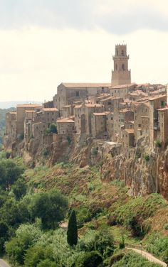 Pitigliano, province of Grosetto , Tuscany region itly
