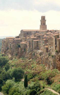 Pitigliano, province of Grosetto , Tuscany region itly