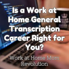 How to Start Your Work at Home General Transcription Career! Fun Job with Flexible Schedule! Low Start-Up Costs! Work From Home Moms, Make Money From Home, How To Make Money, Home Based Business Opportunities, Business Ideas, Flexible Working, Working Moms, Resume Advice, Medical Transcription