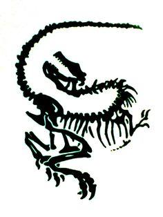 Dinosaur  Tattoo Design by JuanIglesias90.deviantart.com on @deviantART