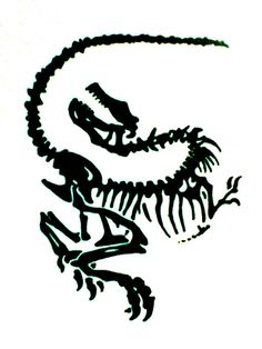 Dinosaur  Tattoo Design by JuanIglesias90.deviantart.com on @deviantART