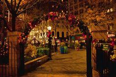 Christmas in New York City by edpuskas, via Flickr