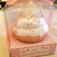 Custom Cupcake! #cupcakebathbomb #cupcakes #feelingsmitten #glitter #sprinkles #pink #gold