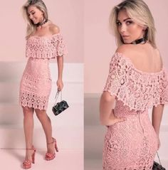 57 ideas crochet dress maxi beautiful for 2019 Trendy Dresses, Elegant Dresses, Cute Dresses, Beautiful Dresses, Casual Dresses, Short Dresses, Casual Clothes, Dress Clothes, African Fashion Dresses