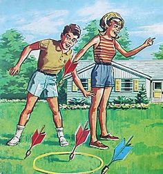 Lawn Darts!