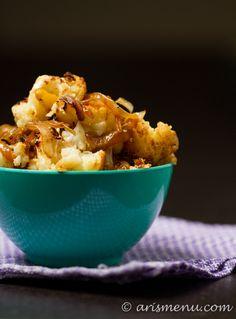 #Healthy #Recipe / Caramelized Onion  Cauliflower