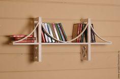 Купить Полка для книг - полка, полка из дерева, полка для книг, полка для игрушек, детская комната