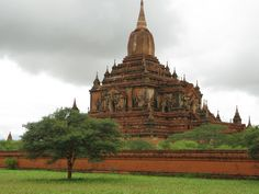 One of the many Pagodas in Bagan, Myanmar