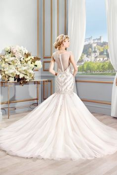Wedding gown by Val Stefani