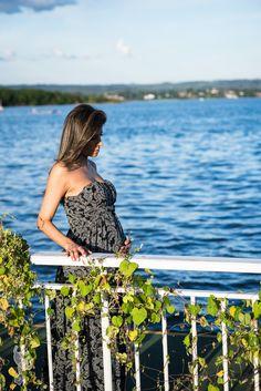 Lucyara esperando Isabela.