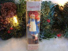~1975 Rare Hallmark *RAGGEDY ANN* Ornament in original box