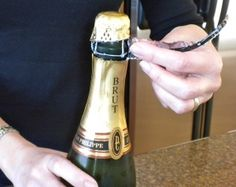 How to open Champagne