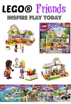 LEGO® Friends Inspire Play & Creativity #LEGOFriendsCGC #CleverGirls AD