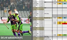 @Delhi Match Schedule, Republic Day, Thursday