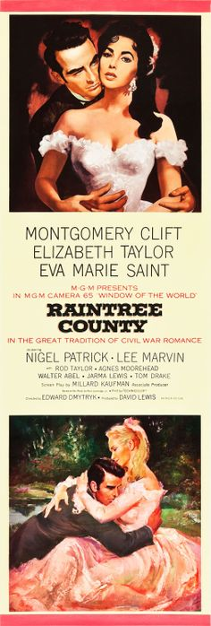 Raintree County Montgomery Clift and Elizabeth Taylor