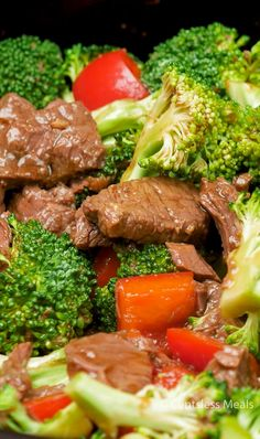 Slow Cooker Beef and Broccoli is the perfect weeknight meal! Ditch the takeout and make this easy dish in your Crock Pot for a weeknight meal so flavorful, everyone will beg for more!! Tender beef and perfectly cooked broccoli are slow cooked in a beautiful asian-style sauce to create a simple yet well rounded dinner …