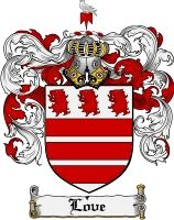 Love Coat of Arms / Love Family Crest