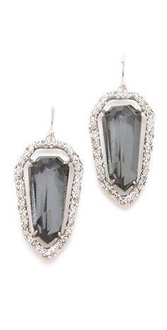 Alexis Bittar Delano Shield Earrings