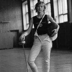 Tatiana Logunova  Fantastic Photo.  Tatiana is The Russian Legend of épée.  I saw her in 2004?  Wonderful work! @MonicaHahnPhoto