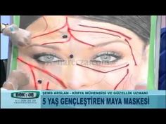 Maya Maskesi ile Cilt Yenileme ve Kırışıklık Sarkma Tedavisi - YouTube Diy Mask, Natural Healing, Masks, Make Up, Drink, Youtube, Nature, Health And Beauty, Beverage