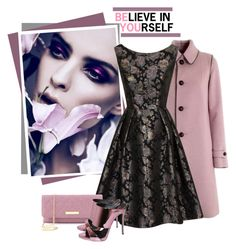 """""""Believe in Yourself .. Be You"""" by razone ❤ liked on Polyvore featuring LodenTal, Chi Chi, Vivienne Westwood and Giuseppe Zanotti"""