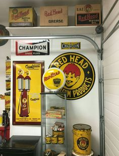 RARE Redhead Petroleum Products Advertising Collection