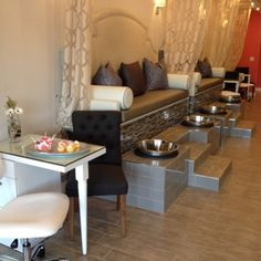 Beautiful pedicure benches - Yelp