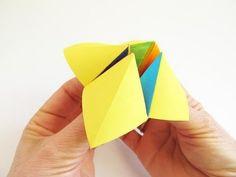 Comecocos, sacapiojos o adivinador: un juguete tradicional de papel