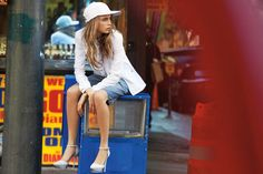 DKNY Jeans S/S '13 ad campaign