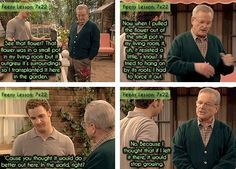Don't be afraid to make a big life change. - 16 Things Mr. Feeny Taught Us