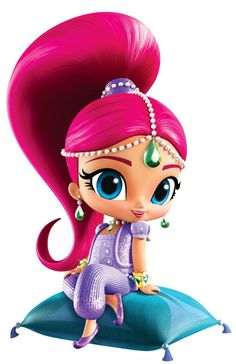 Shimmer and Shine Transparent Cartoon Image Shimmer And Shine Characters, Shimmer And Shine Cake, Barbie Party, Bday Girl, Lol Dolls, Cartoon Images, Big Eyes, Birthday Party Themes, Illustration