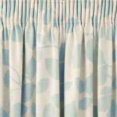 Laura Ashley Chesil Pencil Pleat Curtains
