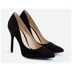 Justfab Pumps Despina (€37) ❤ liked on Polyvore featuring shoes, pumps, black, justfab shoes, sexy pumps, sexy black pumps, high heel pumps and platform shoes