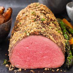 USDA Prime Tenderloin Roast Usda Prime, Elegant Centerpieces, Beef Tenderloin, Larder, Easter Treats, Meatloaf, Lamb, Steak, Roast