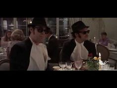 "Menu da Film trailer prima serata ""A tavola con i Blues Brothers, Alberto Sordi e Johnny Depp"""