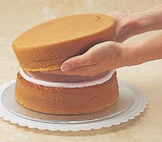 How to add extra height and drama to your cake and prevent the filling from seeping out the sides.