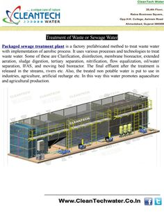 Reverse Osmosis Plant Suppliers is a factory prefabricated method to treat waste water with implementation of aerobic process. It uses various processes and technologies to treat waste water.