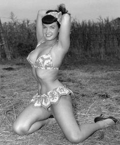 There never was nor ever will be anyone quite like Bettie Page