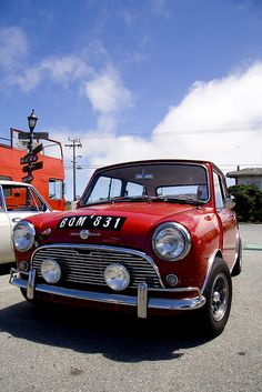 Red classic mini