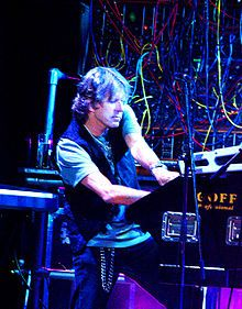 Keith Emerson a founding member of Emerson, Lake & Palmer. He died from suicide by gunshot March 10 2016.