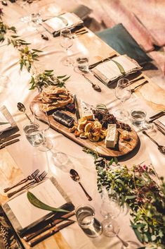 Using a long Australian oak platter, add: Yarra Valley triple cream brie