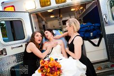 Ambulance Bride...I'm so doing this when I get married