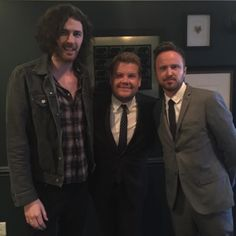 Big thank you to @latelateshow for having me on last night to perform Cherry Wine. Had a blast by hozier