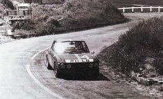 Lancia Fulvia at the Targa Florio.