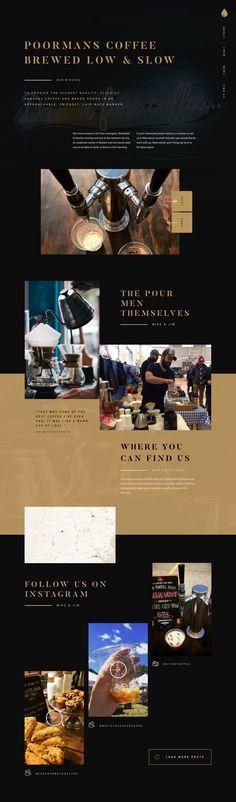 Pourmans Food Web Design, Editorial, Design Inspiration, Gems, Layout, Magazine, Digital, Page Layout, Rhinestones
